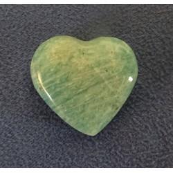 Amazonite en coeur