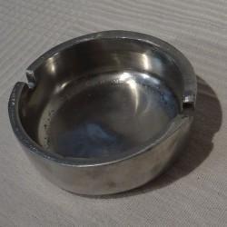 Aluminium, cendrier massif rond